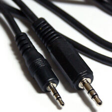 1.5m 3.5mm Male to 2.5mm Plug Stereo Cable-AUX to Mini Jack Headphone Audio Lead