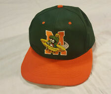 MARVIN THE MARTIAN Hat Looney Tunes Green/Orange Snapback SPELL OUT VTG 1993