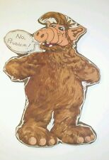 Vintage 1987 ALF Collectables T.V. Star Soft Sculpture Art Wall Hanging