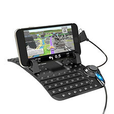 1 PC Car Holder Stand USB Mount Charger Cradle Non-Slip Pad for Phone/GPS Sales