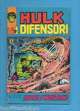SUPER EROI - HULK E I DIFENSORI - CORNO -N.28- 1 APRILE 1976 - NON DI RESA
