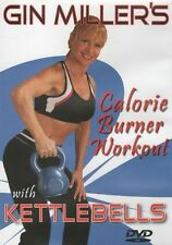 GIN MILLER CALORIE BURNER WORKOUT WITH KETTLEBELLS DVD NEW SEALED EXERCISE