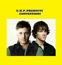 SUPERNATURAL CONVENTION PANEL 3 DISK SET 2012 **RARE L@@K**OVER 6 HRS