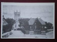 POSTCARD LANCASHIRE BISPHAM - THE CHURCH C1907