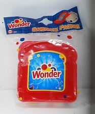 Wonder Bread Sandwich Red  Packer School Lunch Snack Travel Container  BPA Free