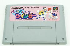 Pop'n Twinbee SNES KONAMI Nintendo Super Famicom Japan USED