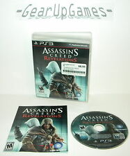 Assassin's Creed: Revelations PS3 *Complete* Tested