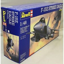 F-15E STRIKE EAGLE & BOMBS REVELL 1/48 PLASTIC KIT