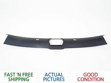 2002 PORSCHE BOXSTER UPPER WINDSHIELD TRIM ROOF COVER BLACK - ORIGIN OEM