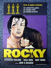 ROCKY Rare Original One Sheet Movie Poster Different Artwork Sylvester Stallone