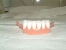 PARTIAL ACRYLIC LOWER DENTURE/FALSE TEETH,ULTRA WHITE,NEW,JOKES,FISH TANKS ETC