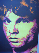 Jim Morrison Psychedelic Poster The Doors Modern Day Print Music Memorabilia
