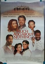 1993 Much Ado About Nothing Original Movie Poster 27x40 Kenneth Branagh