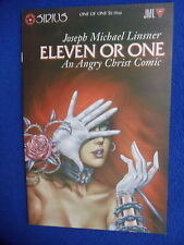 ~~ LINSNER ~ ELEVEN OR ONE ~  AN ANGRY CHRIST COMIC ~1995 1ST PRINT ~~