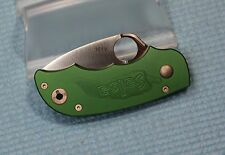 Rare NEW Unused Numbered C71GRP SPYDERCO Green Salsa Model Folding Knife