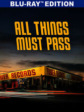All Things Must Pass: Rise & Fall Of Tower Records (2016, Blu-ray NEUF)