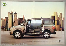 Honda Element 2-Page PRINT AD - 2005