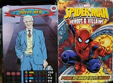 SPIDERMAN HEROES AND VILLANS (2008)TRADING CARD GAME FULL SET X275