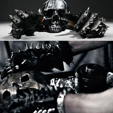 BytheR Mens Max Stud Custom Leather Unique Chic Gloves Korea Fashion P0000QSN CA