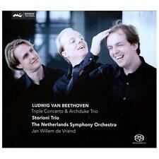 Beethoven: Triple Concerto; Archduke Trio Super Audio Hybrid CD (CD,...