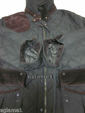 $525 NWT POLO RALPH LAUREN quilted  barn JACKET Coat  suede patch 2LT 2XLT