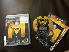 Metro: Last Light -- Limited Edition (Sony Playstation 3, 2013)COMPLETE