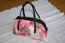 Kimono Handtasche Tragetasche Made in Japan Kimono Muter traditionell Rundlich