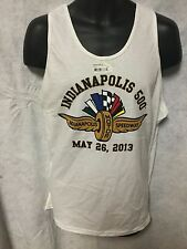 Indy Indianapolis 500 2013 EVENT LOGO Tank Shirt NOS NWT WING & WHEEL Size XL