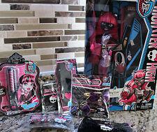 Monster High Catty Noir Doll Hair Bow Streaks Bracelet Necklace Ring- Gift Idea