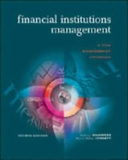 Financial Institutions Management: A Risk Management Approach Saunders, Anthony