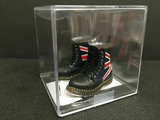 "DR MARTENS BOOTS MINI SCALE 1/6 FIGURE FIT 12"" DRAGON HOT TOY BBI DOC ACTION MAN"