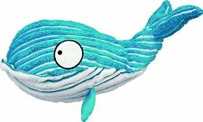 KONG Cuteseas Whale Soft Snuggly Squeaker Crinkle Fun Interactive Pet Toy Large