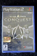 PS2 : STAR TREK : CONQUEST - Nuovo, sigillato ! Domina la galassia !