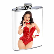 Waitress Pin Up Girls D7 Flask 8oz Stainless Steel Hip Drinking Whiskey Costume