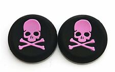 100 x 2 PINK Skull Bones Thumb Stick Grips XBOX ONE / 360, PS3, PS4 Wholesale