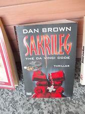 Sakrileg, the Da Vici Code, ein Thriller von Dan Brown, aus dem Bastei Lübbe Ver