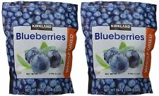 2 X 20 oz Kirkland Signature Whole Dried Blueberries Resealable Zipper