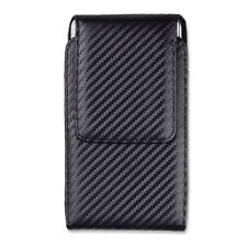 Black Vertical Holster Belt Clip Pouch for iPhone 7 Plus /Samsung Galaxy S7 Edge
