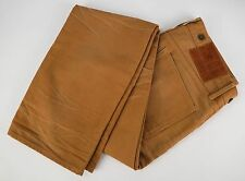 RISING SUN MFG. CO. Brown Cotton Denim Jeans 33x33