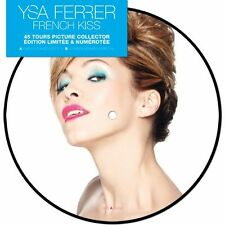 "YSA FERRER 'FRENCH KISS'  LTD FRENCH PINK  7"" PICTURE"