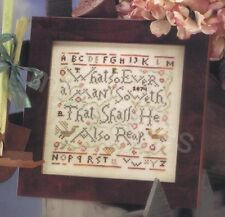 BIRDS OF A FEATHER SOWETH SAMPLER CROSS STITCH CHART