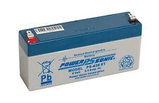 Vision CP632, 6 volt Sealed lead acid Battery