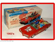 1960's Vintage Monkees Toy Refrigerator / Tool Box Magnet