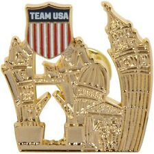 2012 Olympics Team USA Official National Olympic Committee PIN London City icon
