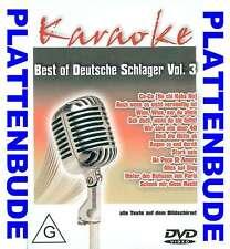 KARAOKE DVD: BEST OF DEUTSCHE SCHLAGER Vol.3 ua. Co Co * Augen zu und durch