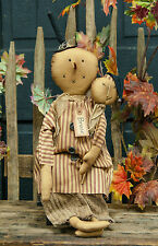 New BRUCE Country Primitive Folk Art Rag Doll