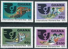 Ghana - Internationales Jahr der Frau postfrisch 1975 Mi.Nr. 605-608