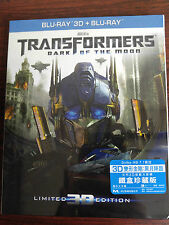 Transformers Dark Of The Moon 3D+2D Bluray Steelbook w/slipcover (HKG Ver)