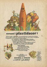 X4962 Plastidecor Baignol & Farjon - Pubblicità 1974 - Advertising