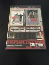CEMETERY GIRLS / VAMPIRE HOOKERS DVD EXPLOITATION CINEMA DOUBLE FEATURE